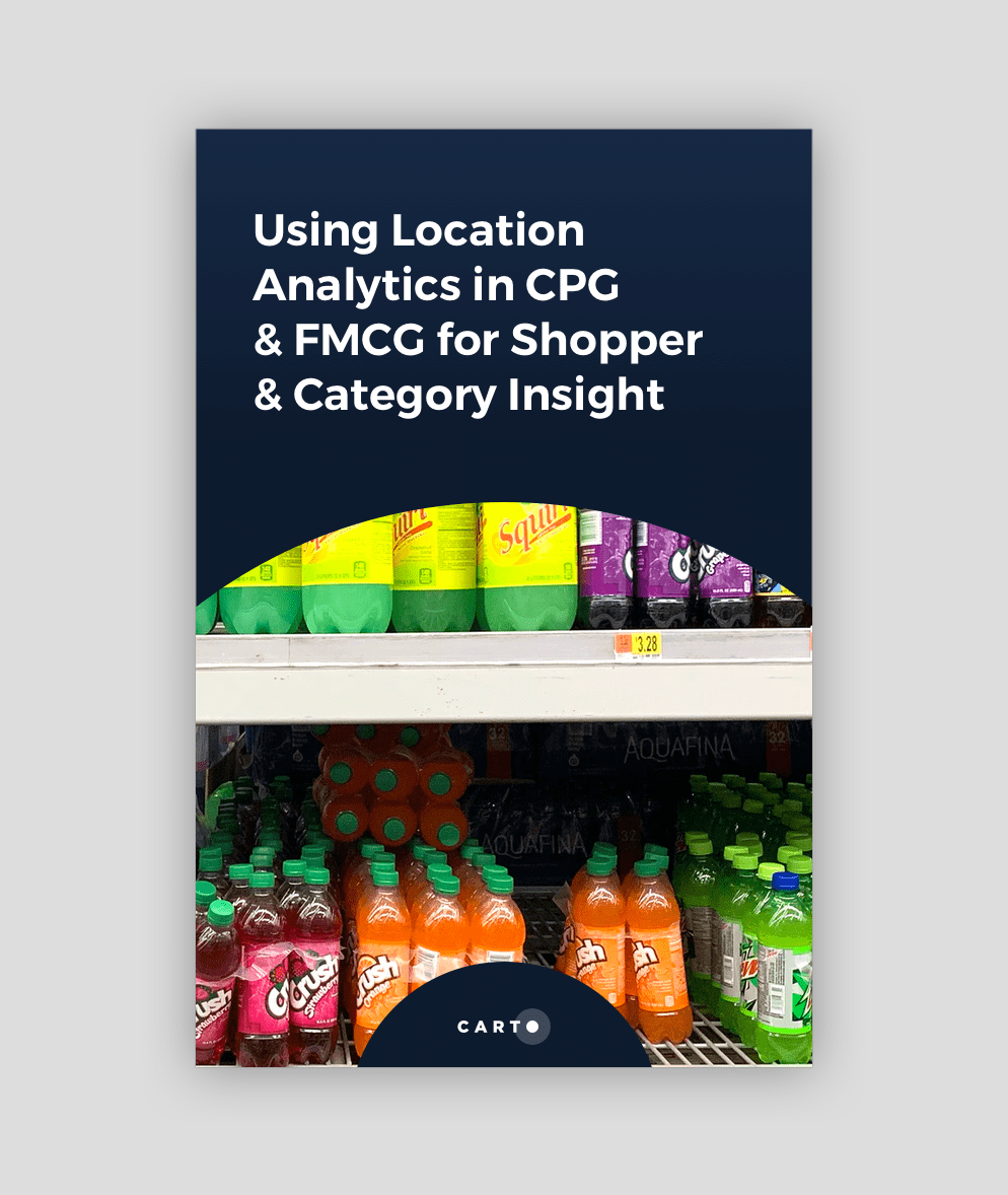 Location Analytics in CPG and FMCG for Shopper